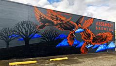 An Odyssey of Phoenix by Ashley Montague (wiredforlego) Tags: graffiti mural streetart urbanart aerosolart publicart portland oregon pdx ashleymontague