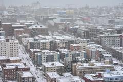 Seattle Snowmageddon 2019 2 (C.M. Keiner) Tags: seattle washington usa city cityscape skyline mountains pacific northwest puget sound snow blizzard winter storm urban