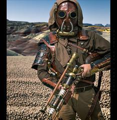 Bounty Hunter (Whitney Lake) Tags: desert costume fantasy tatooine starwars scifi cosplay steampunk