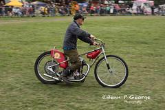 BUNKY-MILES-JAP-SPEEDWAY-BIKE-27-5-18-STRUMPSHAW-RALLY (Benn P George Photography) Tags: strumpshaw 27518 bennpgeorgephotography steamrally ford escort mki mexico bunkymiles jap speedway bike