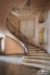 Villa C, Italy (ObsidianUrbex) Tags: abandoned digital photography residential spiral urban exploration urbex villa