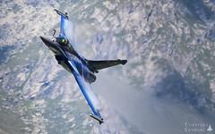 CVF   Armée de l'Air Dassault Rafale C   4-GL (Timothée Savouré) Tags: 4gl dassault rafale c solo display courchevel marty shockwave