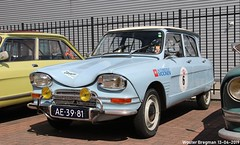 Citroën Ami 6 1968 (XBXG) Tags: ae3981 citroën ami 6 1968 citroënami6 citroënami ami6 blue bleu voorjaarsrit 2019 amiverenigingnederland avn garage vanoord landzigt leidsche rijn utrecht nederland holland netherlands paysbas vintage old classic french car auto automobile voiture ancienne française france frankrijk vehicle outdoor