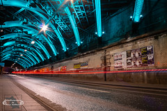 Tunnelblick (Betrachtungsweisen) Tags: eos77d köln nachtfotografie 2018 cologne germany langzeitbelichtung longexposure lichter lights canon