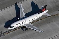 C-GARG, Air Canada, Airbus A319-114, KLAX, December 2018 (a2md88) Tags: