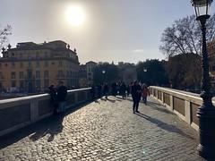 Rome, January 2019 (Waldek P.) Tags: rome rzym italia włochy italy zima winter most ponte bridge