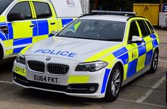 Essex Police - QT17 - EU64 FKT (Chris' 999 Pics) Tags: essex police bmw 530d traffic car rpu roads policing unit anpr automatic number plate recognition 999 112 emergency vehicle law enforcement eu64fkt qt17