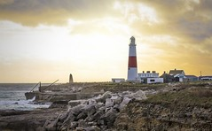 Portland Bill, Dorset (Tim Bullock Photography) Tags: portland bill dorset sunset golden hour winter lighthouse coast sea