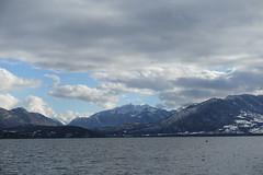 Pointe de la Sambuy @ Lake Annecy @ Petit Port @ Annecy-le-Vieux (*_*) Tags: europe france hautesavoie 74 annecy annecylevieux savoie afternoon january hiver winter 2019 cold lacdannecy lakeannecy petitport bauges mountain lac lake