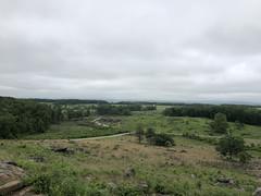 Devil's Den & Slaughter Pen (from LRT) (Khao Soi Boy) Tags: gettysburgnationalmilitarypark gettysburg pennsylvania july1863 devilsden slaughterpen littleroundtop civilwar battlefield nationalparkservice nps iphonex