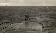 SWORDFISH OFF THE HMS VICTORIOUS (DREADNOUGHT2003) Tags: torpedo torpedos torpedobombers warplanes carriers warships denmarkstrait royalnavy