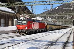 ÖBB 1293 022-0 ARS Altmann Autozug, Brenner (TaurusES64U4) Tags: 1293 öbb vectron
