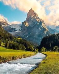 Schweiz - MATTERHORN  - The magestic Wetterhorn (monte-leone) Tags: matterhorn panorama schweiz switzerland
