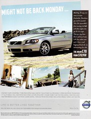 2009 Volvo C70 Convertible Aussie Original Magazine Advertisement (Darren Marlow) Tags: 2 9 20 2009 v volvo c 7 70 c70 convertible car cool collectible collectors classic a automobile vehicle s swiss sweden swedish e european europe 00s