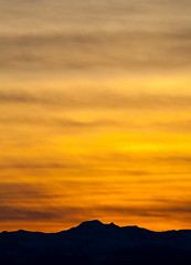 Drama (stevenbulman44) Tags: orange color landscape rockymountains 70200f28l converter canon lseries light evening sunset silhouette winter calgary tripod gitzo outdoor mountain
