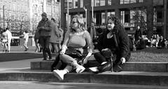 Manchester (1069) (benmet47) Tags: street city urban women candid bw blackwhite tamronaf18270mmf3563di11vcldasphericalif