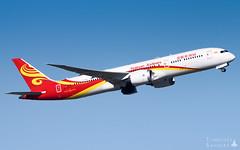 CDG | Hainan Airlines Boeing 787-9 Dreamliner | B-1539 (Timothée Savouré) Tags: b1539 hainan airlines boeing 787 7879 dreamliner takeoff paris cdg