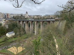 Luxembourg City - March 17, 2019 (firehouse.ie) Tags: gorge canyon viaducts viaduct bridges structure architecture luxembourgcity luxembourg bridge pont