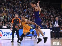 DSC_0267 (VAVEL España (www.vavel.com)) Tags: fcb barcelona barça basket baloncesto canasta palau blaugrana euroliga granca amarillo azulgrana canarias culé