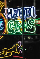 Neon Mardi Gras