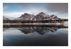 Wedge Pond (Mark McLeod Photography) Tags: 2018 alberta autumn banff canada canmore markmcleod markmcleodphotography rockies colour fall forest landscape