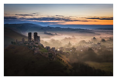 A Mist Opportunity (Rich Walker Photography) Tags: corfe castle castles dorset history historic ancient nationaltrust landscape landscapes landscapephotography mist misty drama sky sunrise morning dawn canon england efs1585mmisusm eos eos80d