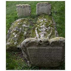 Memento mori (badger_beard) Tags: orwell grave memorial skull skeleton memento mori cambridgeshire south cambs st andrews church churchyard graveyard