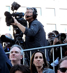 CNN Cameraman; Kamala Harris For the People (xaviergardens) Tags: 2020presidentialelection ussenatorkamalaharris democraticparty oakland oaklandcityhall california