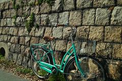20190205_SDIM6380 (NAMARA EXPRESS) Tags: street bicycle vehicle wall stonewall daytime fine outdoor winter color kunijima osaka japan spp spp661 foveon x3 sigma dp2 namaraexp