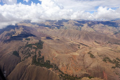 Mountain ridges (A. Wee) Tags: peru 秘鲁 aerial view mountain ridge andes peruvian