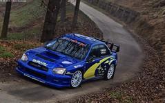Subaru Impreza WRC03 (Mattia Deambrogio - Trains & Cars Photos) Tags: subaru impreza wrc world rally car ex petter solberg bacchella palitta test day michelin monteu roero cuneo 2017