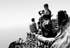 Up High (Steven.Harrison) Tags: southafrica honeymoon tablemountain wall sky people portrait blackandwhite bw bnw blackandwhitephotography blackwhitephotography photography monochrome landscape landscapephotography travel travelphotography adventure
