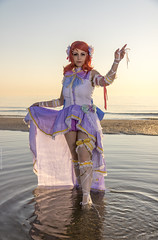 _MG_9057 (Mauro Petrolati) Tags: maki nishikino elisa runeterrae cosplay cosplayer rimini comix 2018 love live angel alba sunrise spiaggia beach sea mare