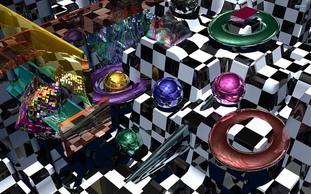 Обои шарики, сферы, 3d картинки на рабочий стол, фото скачать бесплатно