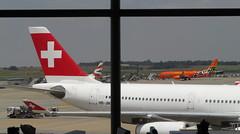Swiss, O.R Tambo Airport, Johannesburg (blafond) Tags: swiss airport aéroport ortambo terminal avions airplanes jets