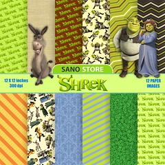 Shrek, Fiona, Backgrounds, craft, scrapbook,cartoon, animation,digital paper pack - printable papers. - Instant download - 12x12 inches (scrapbook digital papers) Tags: shrek fiona backgrounds craft scrapbook cartoon animation digitalpaperpack printablepapers instantdownload 12x12inches