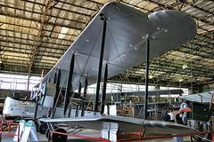 VICKERS VIMY REPLICA AT BROOKLANDS (toowoomba surfer) Tags: aircraft aviation aeroplane biplane museum aviationmuseum airmuseum