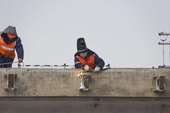 Welding work (skur_s72) Tags: барнаул алтай сибирь скурыдин юрийскурыдин barnaul altai altaikrai skuridin skurydin siberia siberian yuriskuridin yuryskuridin yuriskurydin yuryskurydin yuriyskuridin russianrailways overpass ремонтпутепровода путепровод железнаядорога сварщик weldingwork welder