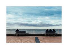 Enjoy the silence (gerritdevinck) Tags: belgium belgie beach beautifulclouds belgiumcoast coastline coast westvlaanderen westkust koksijde koksijdeoostduinkerke cloudy clouds grain gerritdevinckfotografie gerritdevinck canon5dmarkiii ef1740mmlf4 streetphotography streetshots streetlife streetstyle streets