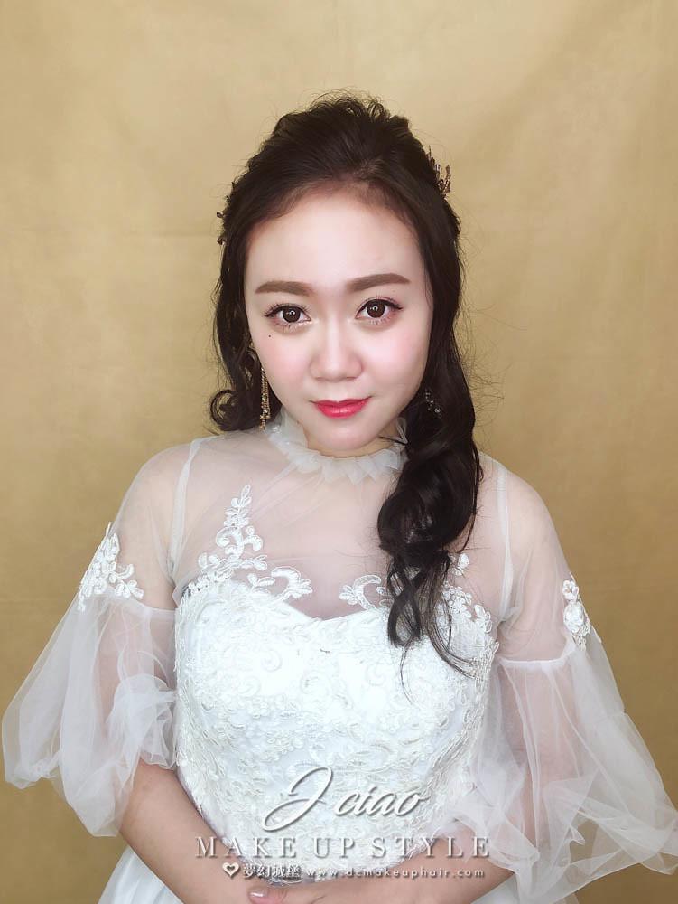【新秘婕喬】新娘造型創作 / 自然甜美風