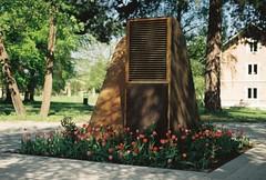 Ventilationsintaget vid Bloms hus (Linzen004) Tags: stockholmsuniversitet