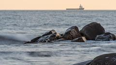 Standard Provider (tonyguest) Tags: standardprovider offshore supply ship vessel stilleryd karlshamn blekinge sverige sweden tonyguest sea rocks nordstream2