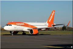 Airbus A320-251N, easyJet, G-UZHL (OlivierBo35) Tags: rennes spotting spotter rns lfrn airbus a320 neo easyjet