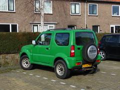 2001 Suzuki Jimny 1.3 (brizeehenri) Tags: suzuki jimny 2001 95gzxp bergschenhoek