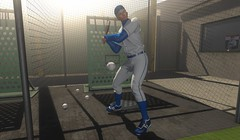In the Batting Cage (Joshua 2.0) Tags: secondlife sl solo selfie twink gay blonde baseball