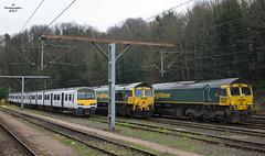 Ipswich Yard (JohnS87) Tags: ipswich yard greateranglia freightliner emu diesel locomotives