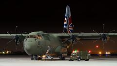 RAF Lockheed Martin C-130J Hercules C5 ZH883 (Thames Air) Tags: raf lockheed martin c130j hercules c5 zh883 northolt nightshoot