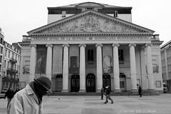 TRM (Spotmatix) Tags: 24mm 24mmf28 a68 belgium brussels camera effects lens minolta monochrome places primes sony street streetphotography