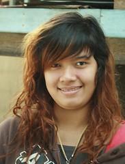 pretty woman (the foreign photographer - ฝรั่งถ่) Tags: pretty woman long hair khlong than portraits bangkhen bangkok thailand canon