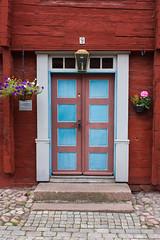 IMG_2908-1 (Andre56154) Tags: schweden sweden sverige eksjö stadt city village haus house holzhaus tür door eingang entrance